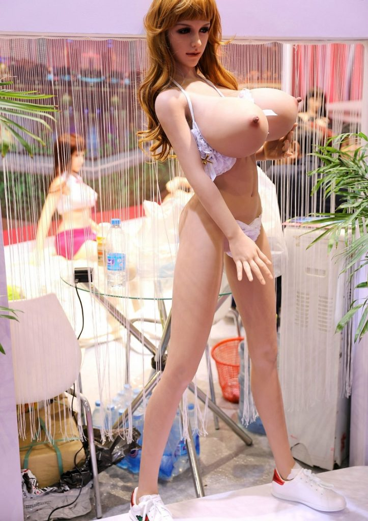 Ruby 165cm red hair sex doll